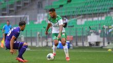 Foot - L1 - Ligue1: Saint-Étienne prend la tête du Championnat après avoir dominé Strasbourg sans briller