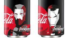 復仇者著裝!Coca-Cola zero 推出《Avengers: Infinity War》新包裝