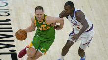 Bogdanovic scores career-high 48 points, Jazz beat Nuggets