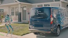 Ford teams with robot-maker to deliver packages to your front door
