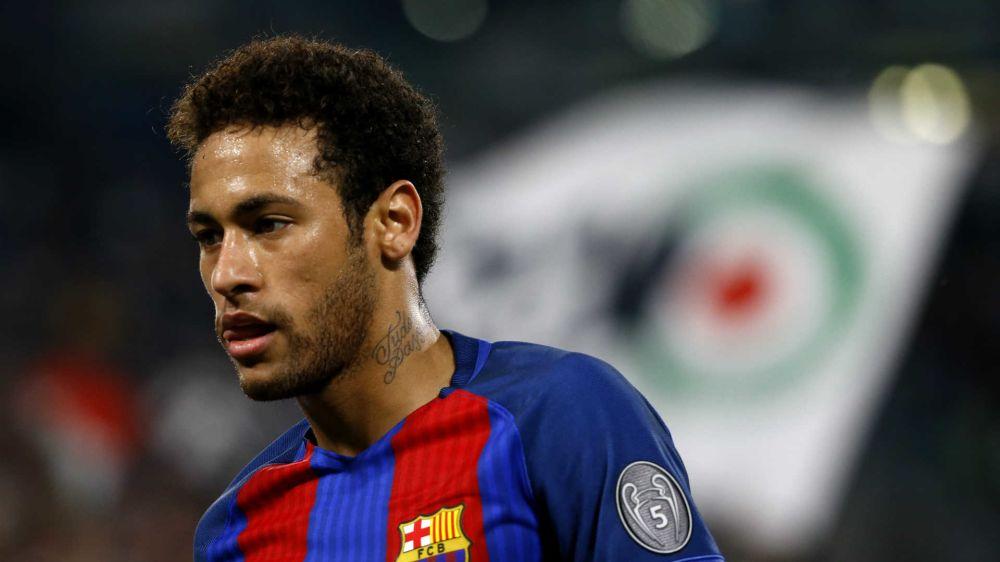 El desequilibrio de Neymar terminó en descontrol