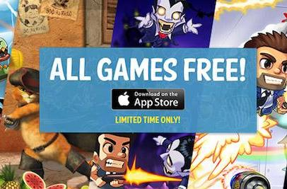 Halfbrick giving away its iOS games for a limited time, even Fruit Ninja