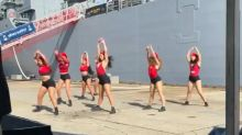 Why Australia is in hysterics over a 'navy twerking' dance