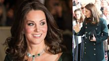 Kate Middleton stuns in green twice in one week