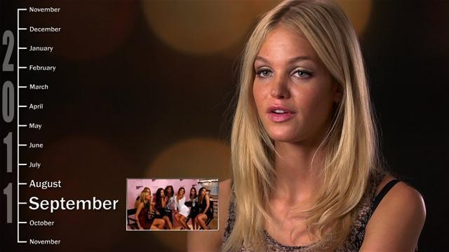 Year In The Life of An Angel: Erin Heatherton
