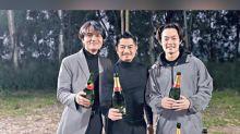"Aaron Kwok, Gordon Lam finish filming ""Broken Net"""