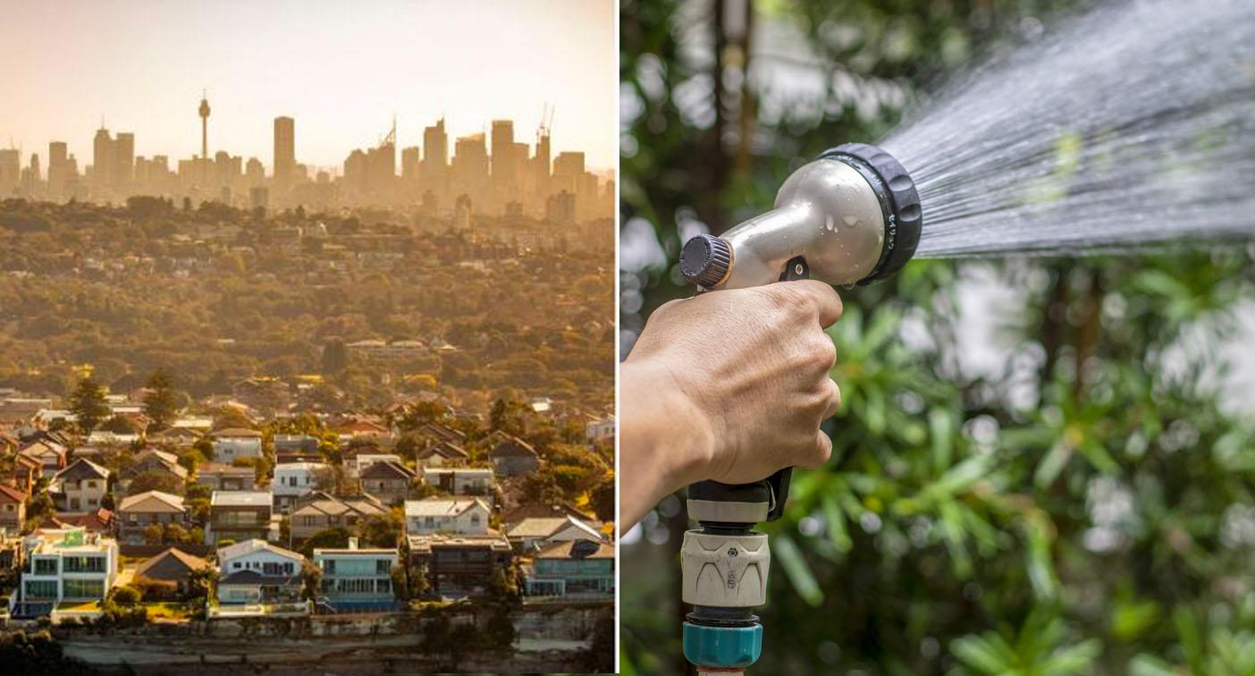 Sydney water restrictions to be eased – but fines will still apply