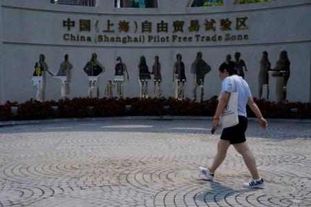 Bankers' exits and zombie accounts: China's Shanghai free