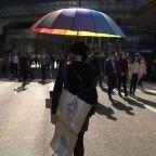 Hong Kong tips into recession amid protests