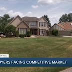 Home buyers facing competitive market