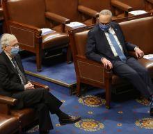 Senate's top Democrat, Republican seek path to guide 50-50 chamber
