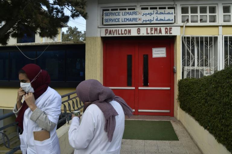 Algeria's healthcare workers have come under increasing pressure as novel coronavirus cases rise