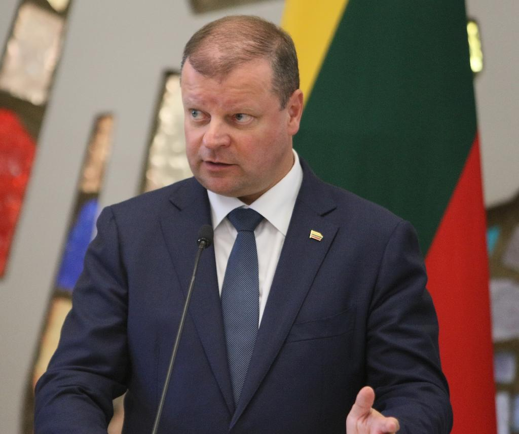 Lithuania's centrist Prime Minister Saulius Skvernelis is running for president in the country's May 2019 polls