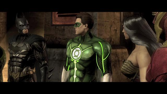 Injustice: Gods Among Us Story Mode Trailer