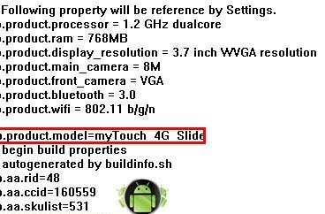 HTC Doubleshot outed as T-Mobile's MyTouch 4G Slide?