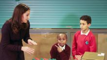 Kate Middleton repite look premamá y acierta