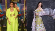 Sonakshi's Green Or Madhuri's Floral: Whose Attire Will You Pick For The Next Festive Occasion?