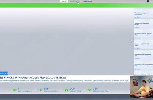 Sims 4 gameplay walkthrough reveals Premium membership