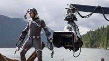 Andy Serkis in Motion Capture Mode