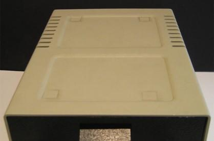 Apple Disk ][ enclosure used to house Mac mini, enhance lives