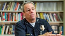 Los Angeles Police Chief Michel Moore apologizes after saying George Floyd's death is on the 'hands' of looters