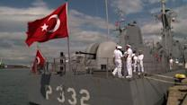 NATO ships deployed to the Black Sea