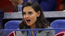 Katie Holmes Makes Hilarious Faces Watching Venus Williams at US Open After Jamie Foxx PDA Photos