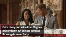 Harry und Meghan zeigen ihr Baby