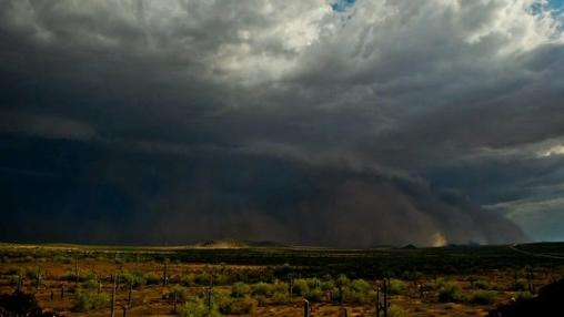 Haboob Sweeps Across Arizona