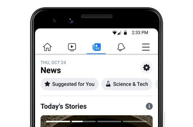 Facebook is expanding its dedicated news section to more countries