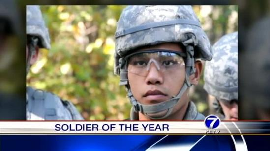 Bellevue University graduate named U.S. Army Soldier of the Year