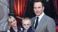 Chris Pratt's Son Was Dressed to Impress With These Light-Up Sneakers at the Hollywood Walk of Fame Ceremony
