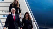 El vicepresidente de EE.UU llevó al papa Francisco el saludo de Trump