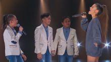 Ariana Grande joins TNT Boys to celebrate historic Billboard achievement