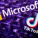 Trump says U.S. Treasury should get a portion of the TikTok deal, if Microsoft 'or somebody else' buys it