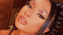 Megan Thee Stallion Wore the Coolest Holographic Eye Look