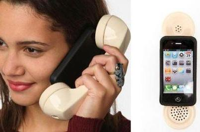 Mofone iPhone case puts old school grip on a new school dialer