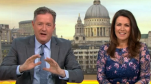 GMB's Piers Morgan furious with one royal wedding guest