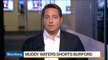 Muddy Waters' Carson Block Calls Burford's Accounting 'Misleading'