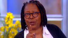 Whoopi Goldberg schools Roseanne Barr on 'The View' over fake photo she retweeted