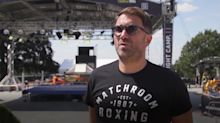 Anthony Joshua so ready to fight he'd box in my back garden, insists Eddie Hearn