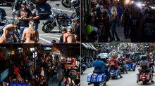 FOTOS: Sturgis, un lugar con bikinis y motociclistas donde pareciera que el COVID no existe