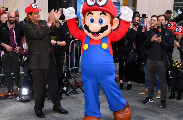Animated 'Super Mario Bros.' movie tentatively planned for 2022