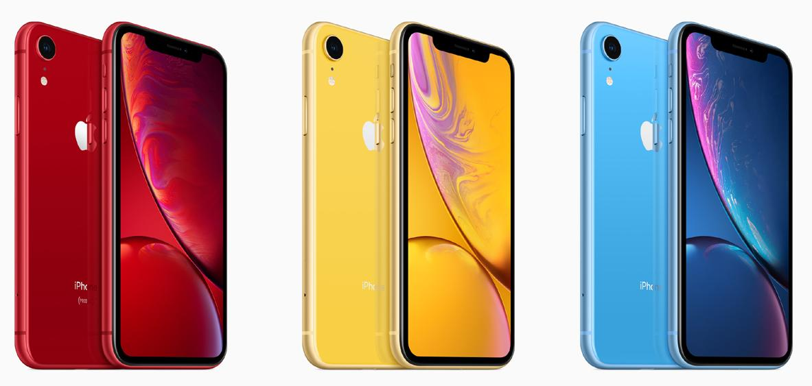 Stiftung Warentest: Apple iPhone XR ist billiger, bunter ...
