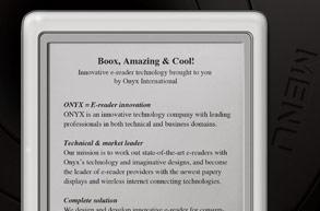Dulin's Books brings Onxy's 6-inch Boox 60 e-reader to US shores for $349