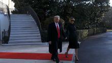 Trump revokes ethics ban on aides as he exits Washington
