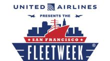 United Airlines Announced as Presenting Sponsor of The San Francisco Fleet Week Air Show