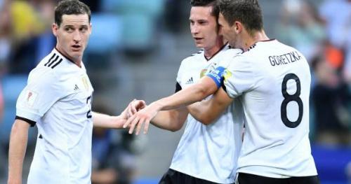 Foot - C. Conf. - Gr. B - L'Allemagne se fait peur face à l'Australie pour son entrée en lice à la Coupe des Confédérations