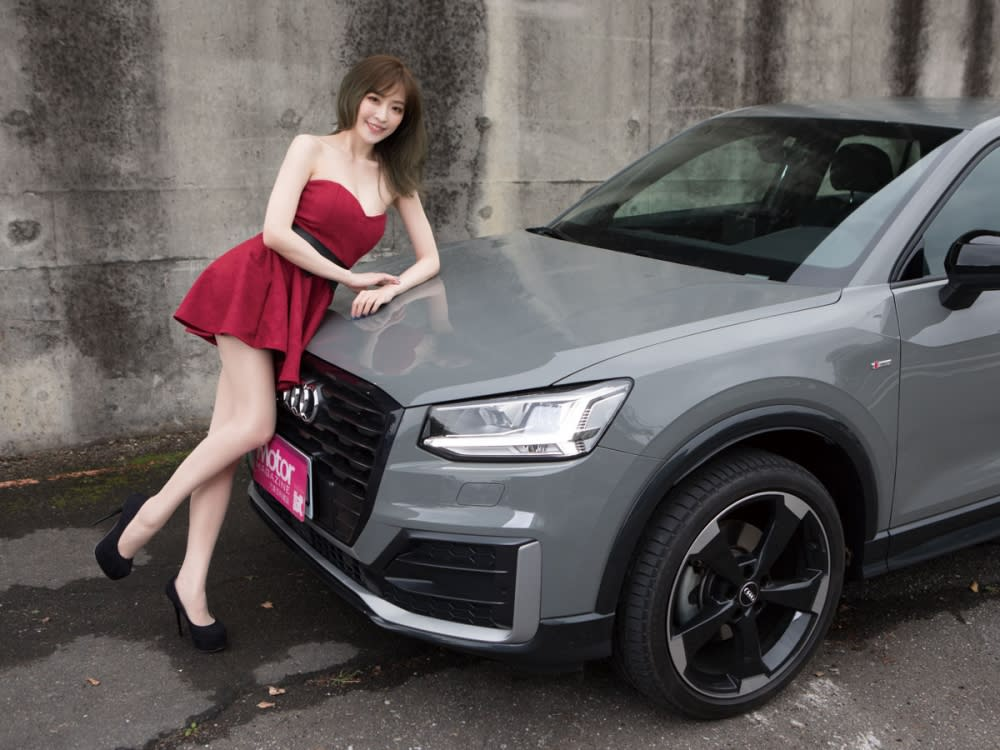 【Date With LUCY】展現自我時尚魅力 Audi Q2 35 TFSI Sport Editio n#1