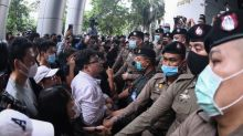 Thai protesters demand the release of anti-government activists
